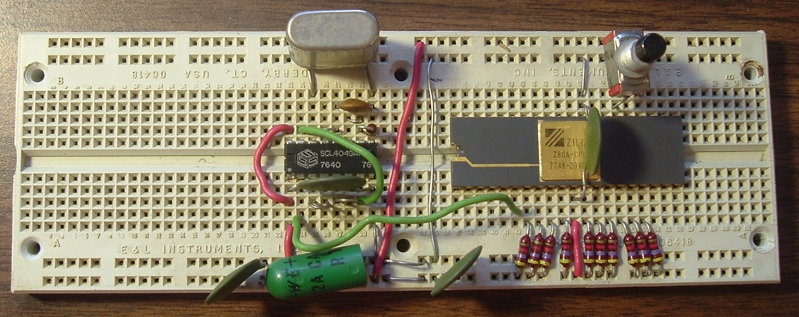 Breadboards And Electrical Circuits How To Build An Electric Circuit We Still Call These Plastic Boards Its Sort Of A Throwback Term The Original Way Making They Are Also Called Solderless